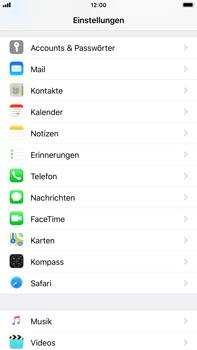 Apple iPhone 6s Plus - iOS 11 - Neue Datenschutz- und Sicherheitsfunktionen für Safari aktivieren - 3 / 6