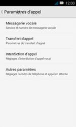 Huawei Y3 - Messagerie vocale - configuration manuelle - Étape 7