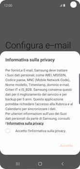 Samsung Galaxy S10e - E-mail - 032c. Email wizard - Outlook - Fase 10