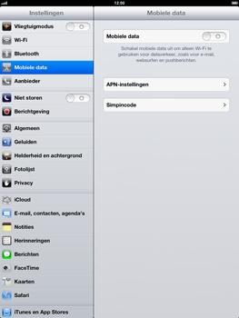 Apple iPad 4th generation - Internet - handmatig instellen - Stap 4