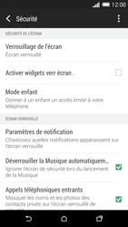 HTC Desire 816 - Sécuriser votre mobile - Activer le code de verrouillage - Étape 5