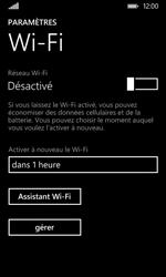 Nokia Lumia 530 - Internet et connexion - Accéder au réseau Wi-Fi - Étape 5