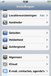Apple iPhone 4S met iOS 5 (Model A1387) - Internet - Uitzetten - Stap 3