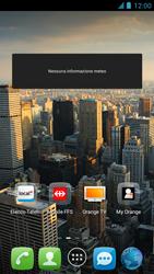 Alcatel One Touch Idol - Operazioni iniziali - installazione di widget e applicazioni nella schermata iniziale - Fase 7