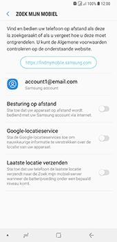 Samsung Galaxy A9 - Beveiliging en privacy - zoek mijn mobiel activeren - Stap 6