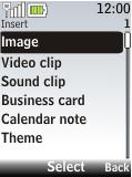 Nokia 2720 fold - E-mail - Sending emails - Step 11
