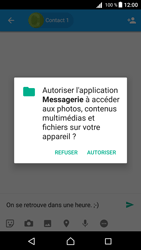 Sony Xperia Z5 Compact - Android Nougat - MMS - envoi d'images - Étape 9
