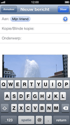 Apple iPhone 5 - E-mail - E-mails verzenden - Stap 8