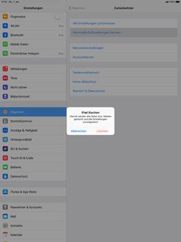 Apple iPad Pro 12.9 inch - iOS 12 - Fehlerbehebung - Handy zurücksetzen - Schritt 8