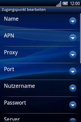 Sony Ericsson Xperia X8 - Internet - Manuelle Konfiguration - 10 / 23