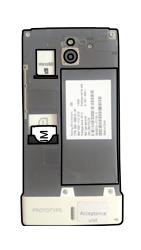 Sony Xperia Sola - SIM-Karte - Einlegen - Schritt 4