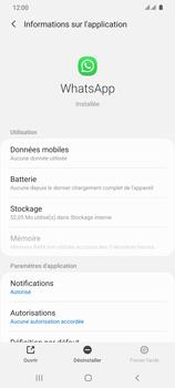 Samsung Galaxy S20 Ultra 5G - Applications - Comment désinstaller une application - Étape 6