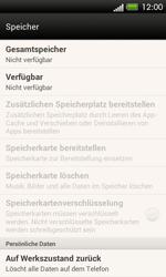 HTC One SV - Gerät - Zurücksetzen auf die Werkseinstellungen - Schritt 5