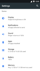 Nokia 3 - Applications - How to uninstall an app - Step 4