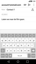LG LG X Screen - e-mail - hoe te versturen - stap 9