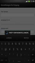 HTC One Mini - E-Mail - Manuelle Konfiguration - Schritt 12