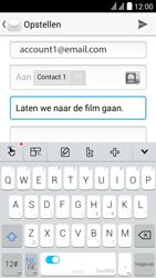 Huawei Y625 - E-mail - e-mail versturen - Stap 8