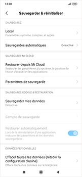 Xiaomi RedMi Note 7 - Téléphone mobile - Réinitialisation de la configuration d