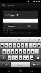 Sony Xperia T - Internet - Manuelle Konfiguration - Schritt 23