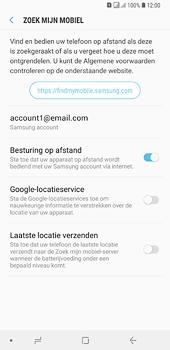 Samsung Galaxy A6 Plus - Beveiliging en privacy - zoek mijn mobiel activeren - Stap 7