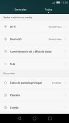 Huawei Ascend G7 - Internet - Activar o desactivar la conexión de datos - Paso 4