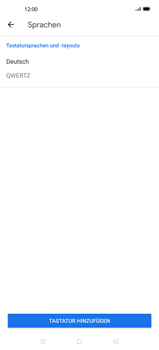 Oppo Find X2 - Startanleitung - So fügen Sie eine Tastatursprache hinzu - Schritt 8
