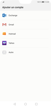 Huawei P20 Pro Android Pie - E-mail - 032c. Email wizard - Outlook - Étape 4