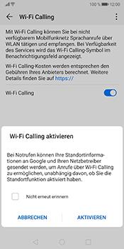 Huawei Mate 10 Pro - Android Pie - WiFi - WiFi Calling aktivieren - Schritt 8