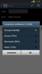 Samsung N7100 Galaxy Note II - E-mail - E-mails verzenden - Stap 14