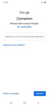 Samsung Galaxy A20e - Applications - Créer un compte - Étape 5