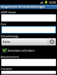 Samsung S5570 Galaxy Mini - E-Mail - Konto einrichten - Schritt 13