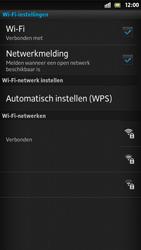 Sony LT26i Xperia S - wifi - handmatig instellen - stap 9