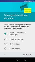 Huawei Y6 - Apps - Konto anlegen und einrichten - Schritt 17