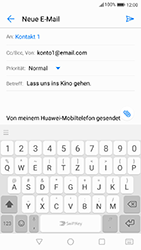 Huawei P10 - E-Mail - E-Mail versenden - 9 / 18