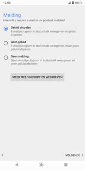 Sony Xperia XZ3 - E-mail - Handmatig instellen (outlook) - Stap 15