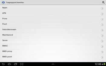 Samsung N8000 Galaxy Note 10-1 - Internet - handmatig instellen - Stap 10
