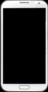 Samsung Galaxy Note 2 - Premiers pas - Découvrir les touches principales - Étape 2