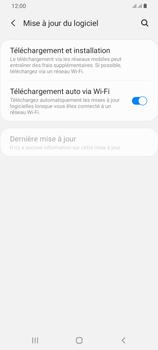 Samsung Galaxy A42 5G - Aller plus loin - Mettre à jour le logiciel interne de votre mobile - Étape 6