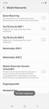 Samsung Galaxy A51 - Netzwerk - Manuelle Netzwerkwahl - Schritt 12