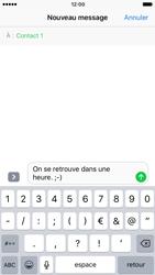 Apple iPhone 7 - Contact, Appels, SMS/MMS - Envoyer un SMS - Étape 8