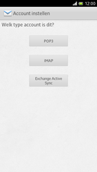 Sony LT28h Xperia ion - e-mail - handmatig instellen - stap 6