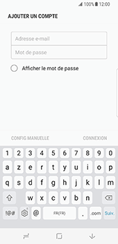 Samsung Galaxy S8 - E-mail - 032c. Email wizard - Outlook - Étape 7
