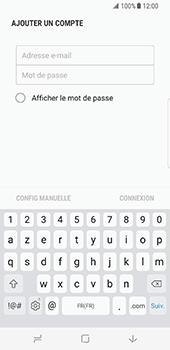 Samsung Galaxy S8 - E-mail - Configuration manuelle (outlook) - Étape 7