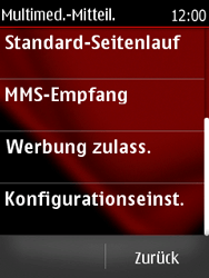 Nokia Asha 300 - MMS - Automatische Konfiguration - Schritt 10