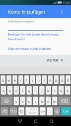 Huawei P8 Lite - E-Mail - Konto einrichten (gmail) - 0 / 0
