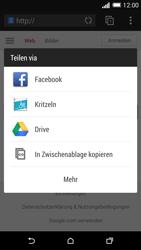 HTC One M8 - Internet und Datenroaming - Verwenden des Internets - Schritt 21