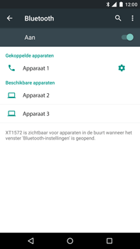 Motorola Moto X Style - Bluetooth - Koppelen met ander apparaat - Stap 8