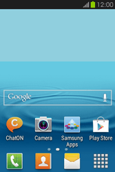Samsung S6810P Galaxy Fame - Internet - Example mobile sites - Step 1