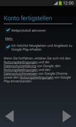 Samsung S7275 Galaxy Ace 3 - Apps - Konto anlegen und einrichten - Schritt 18