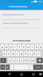 Sony Xperia M4 Aqua - E-Mail - Konto einrichten - 1 / 1